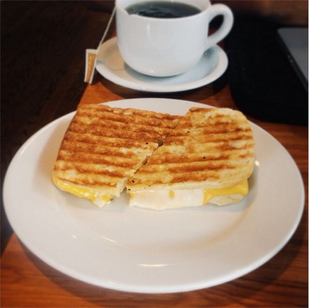 Love is a Grilled Cheese Sandwich