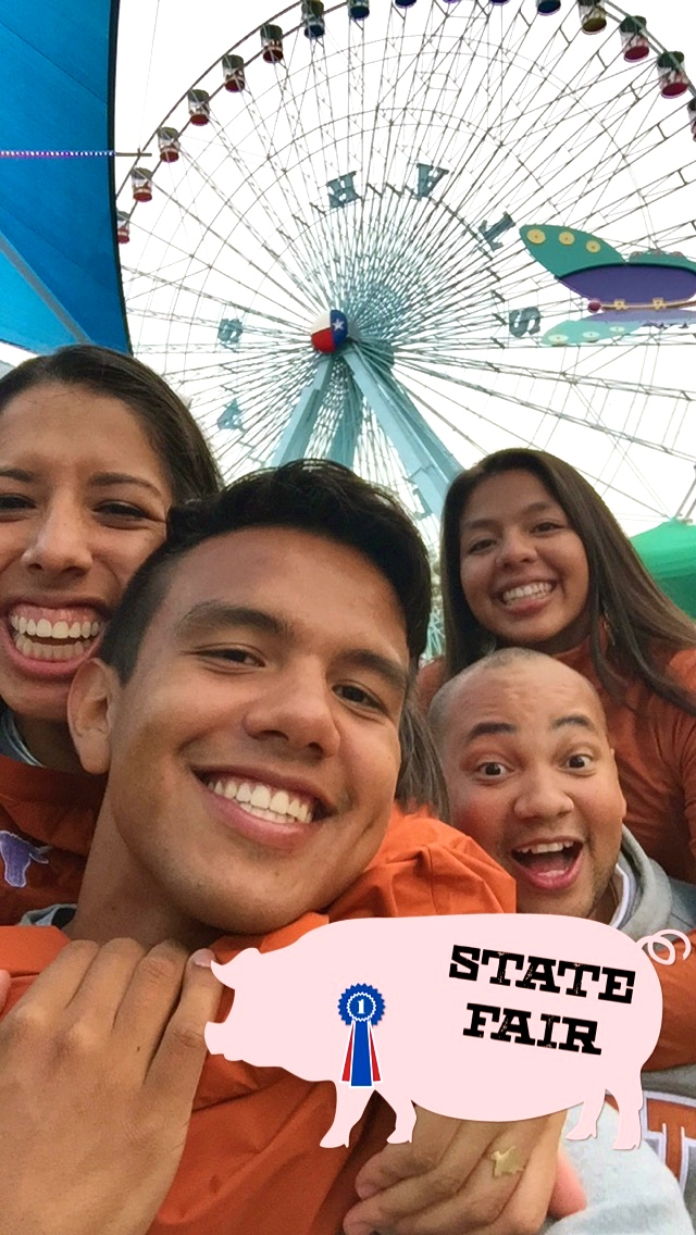 Take 13 out of 100 probably. It's hard to get a Farris Wheel, 4 people, and a pig into a picture.