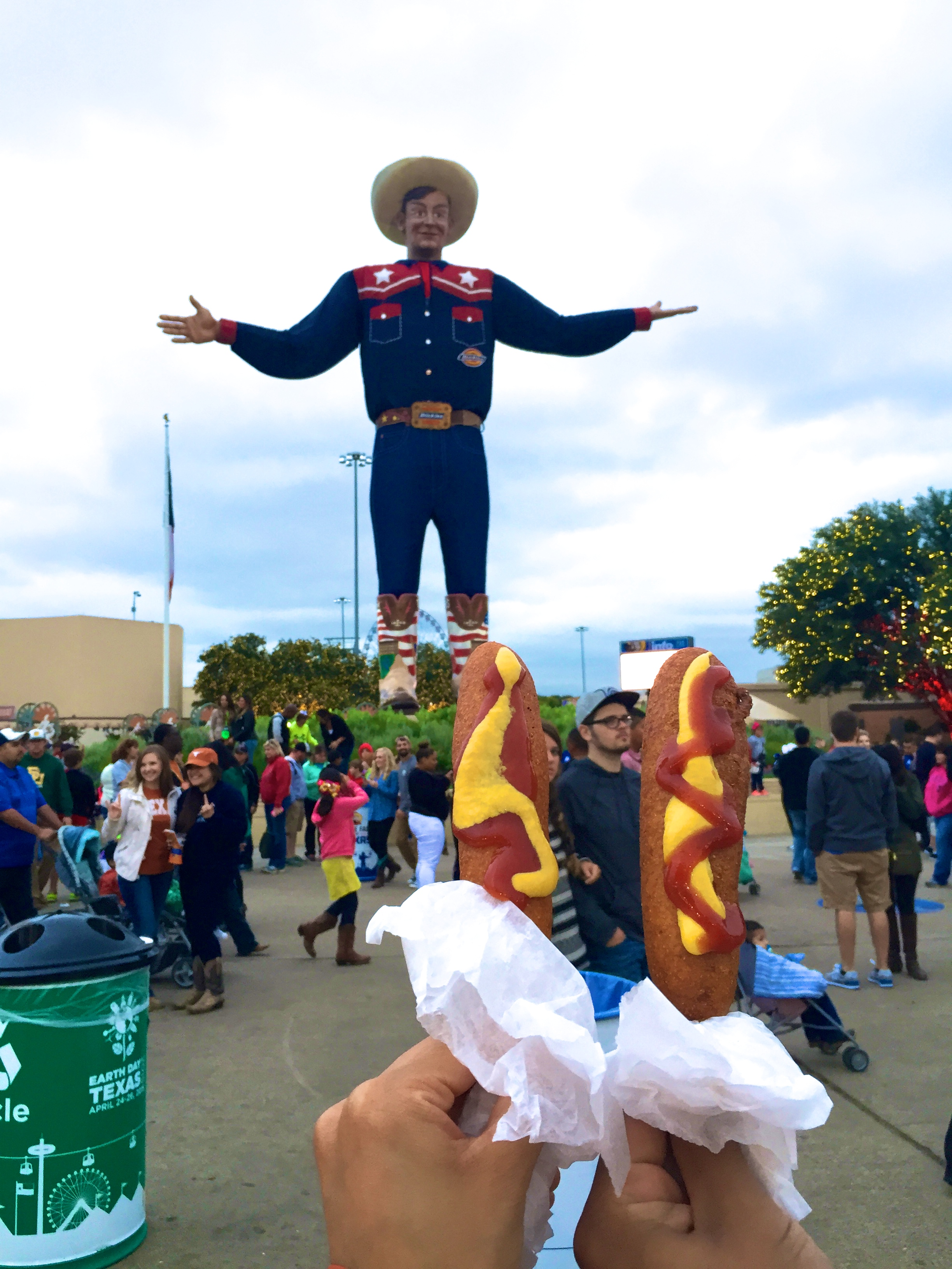 To Big Tex - the fair's beloved mascot.