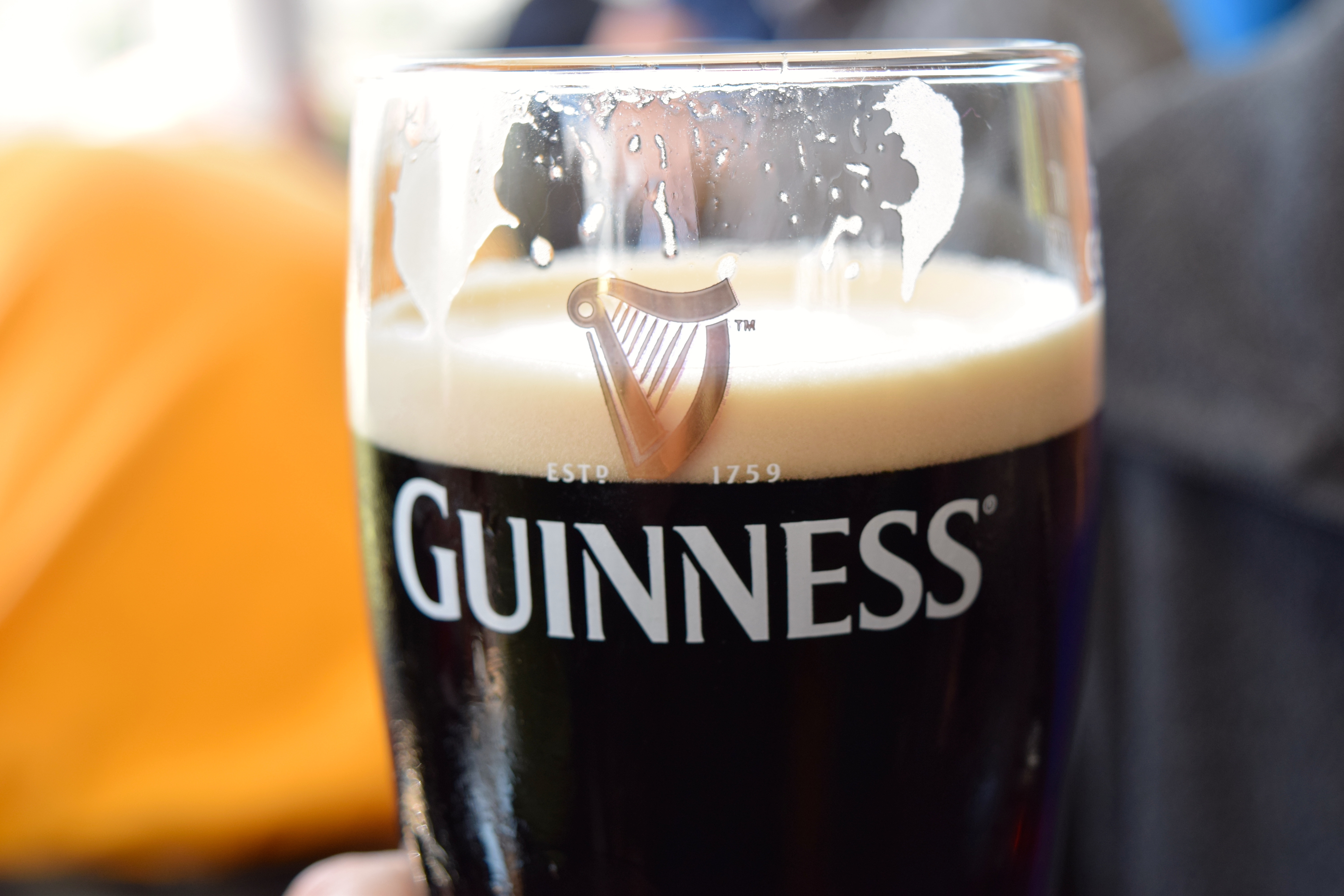My Goodness, My Guinness – and Jameson!