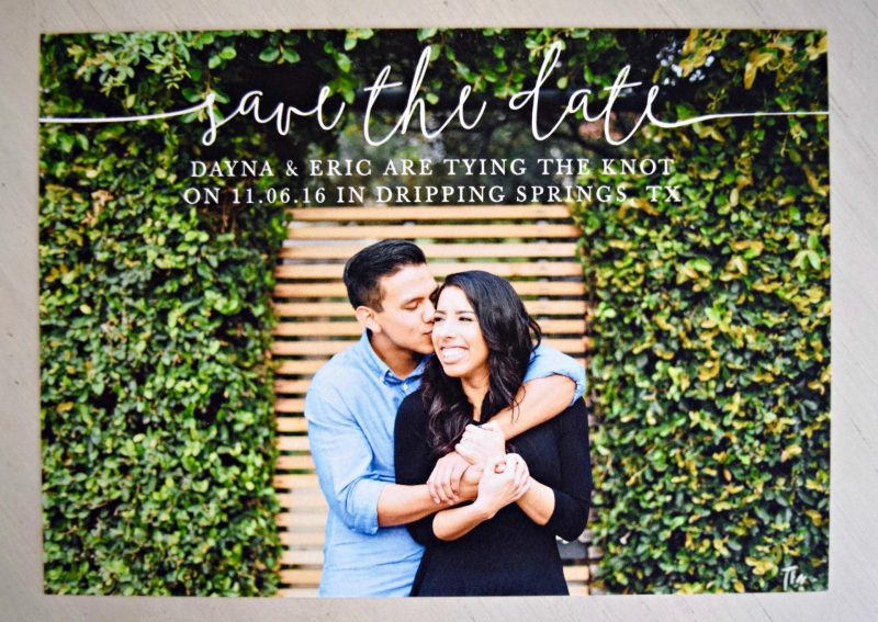 Save The Dates with Minted