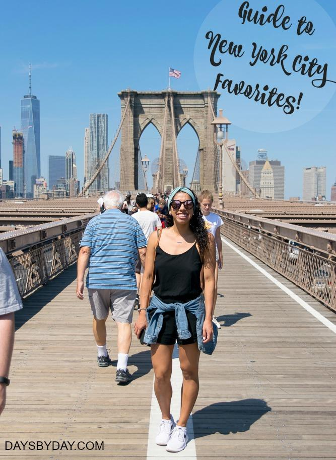 Guide to New York City Favorites