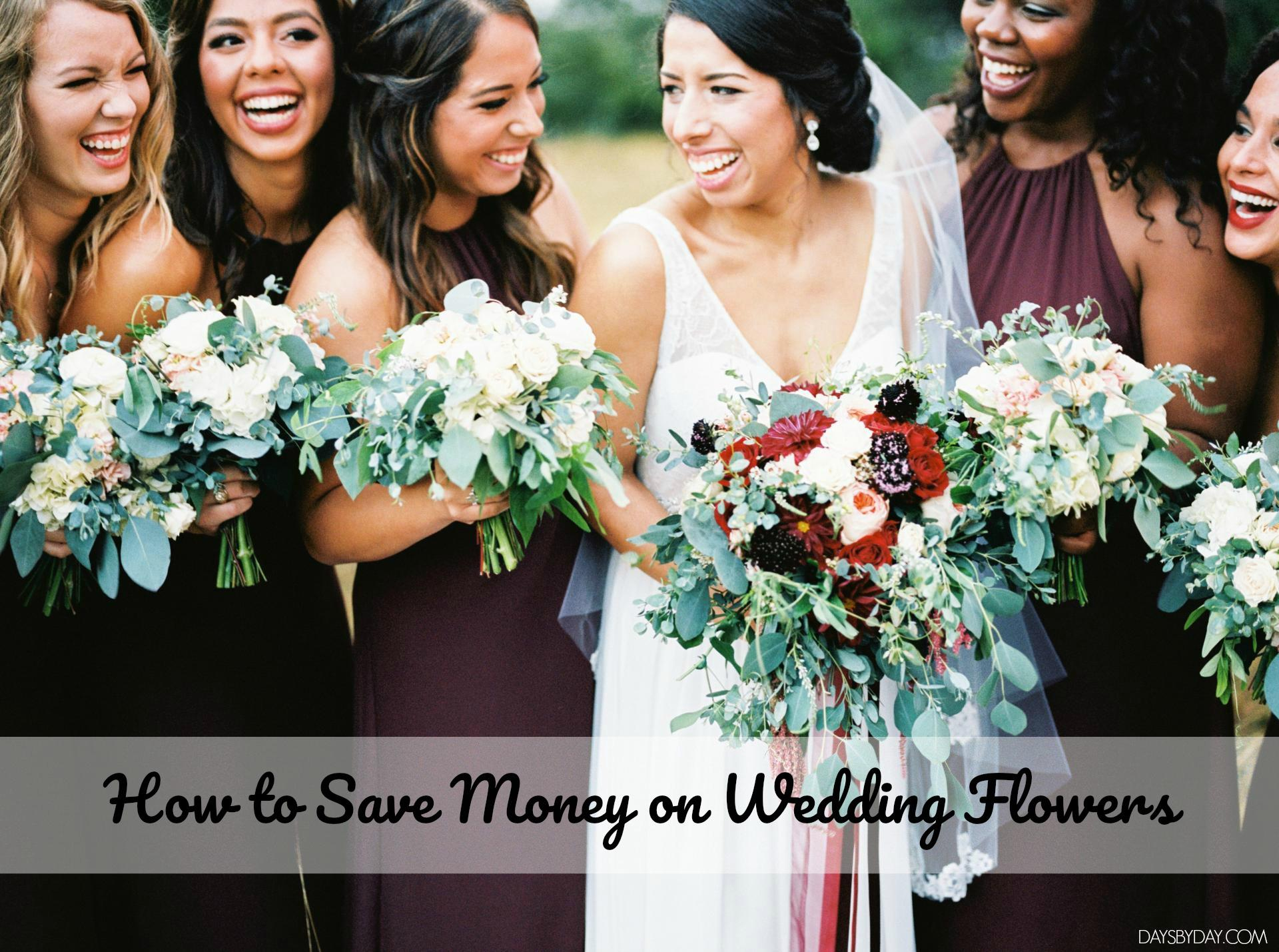 how to save money with flowers