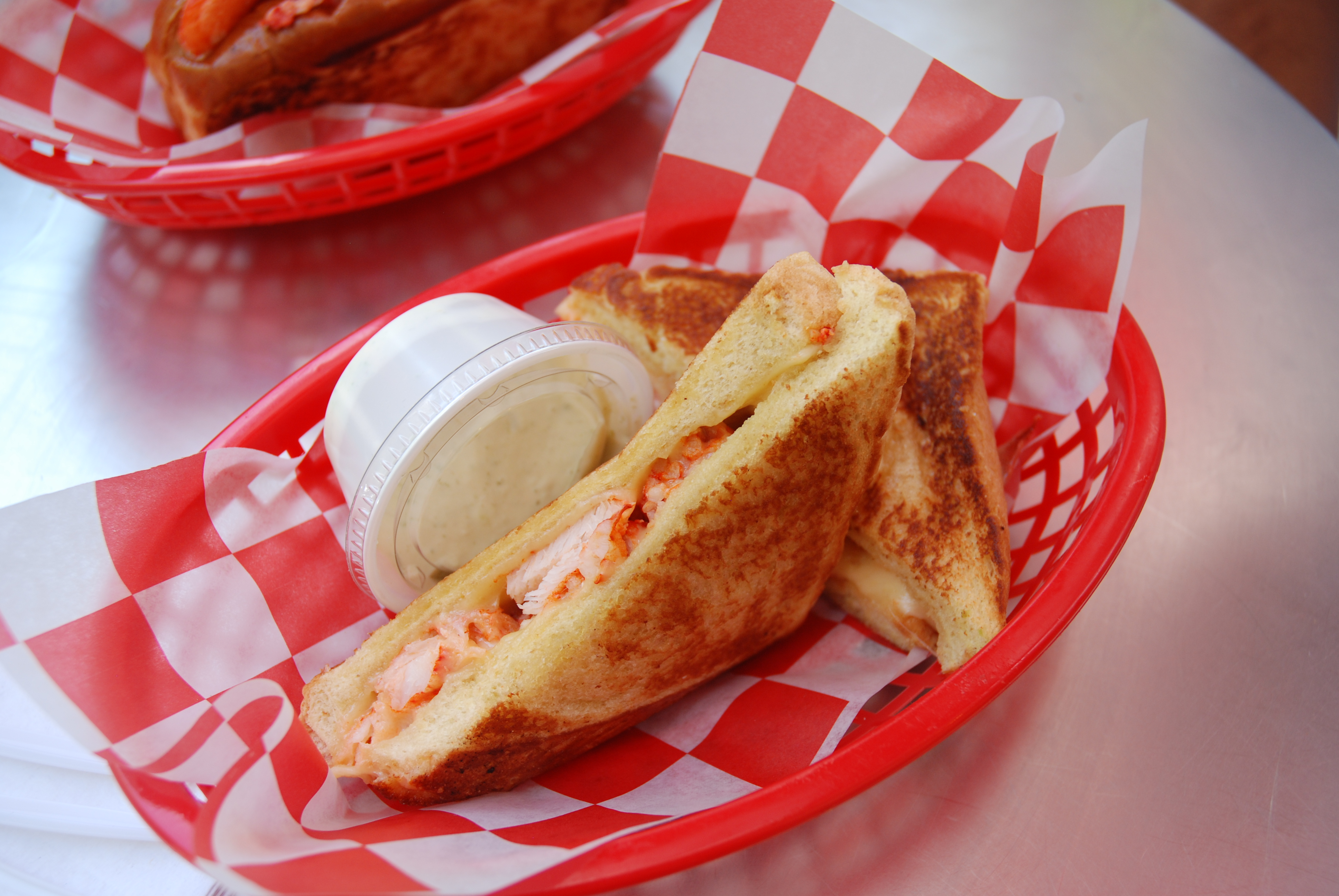 Lobster Grilled Cheese - I can't even.