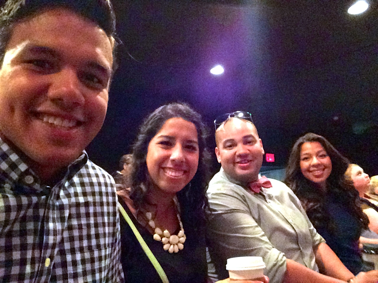 Eric and I with his brother, Pedro, and sister, Laura.