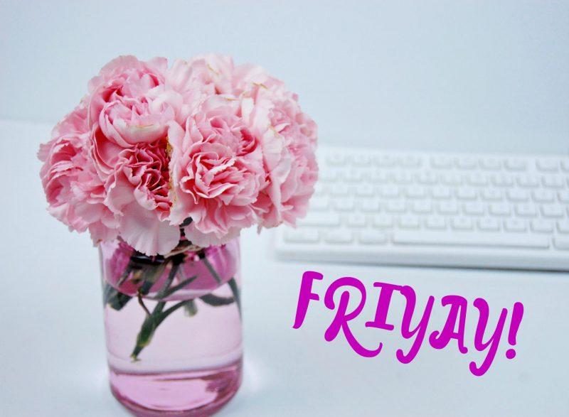 carnations wide vase friyay