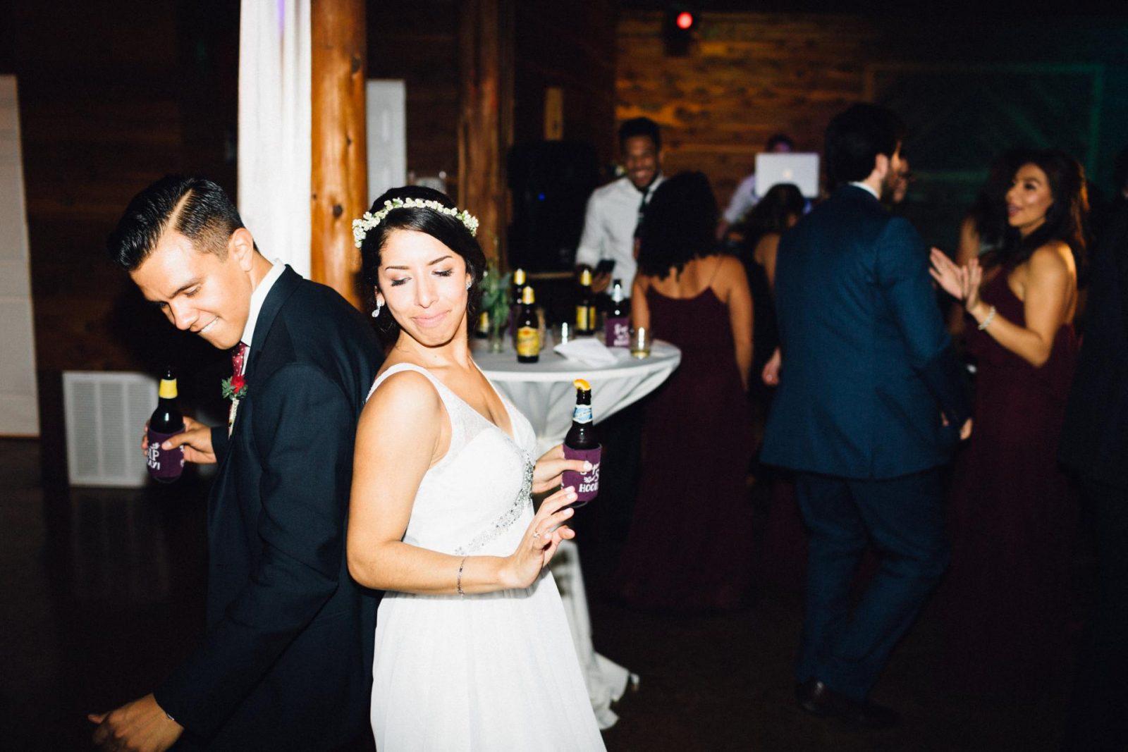 D & E Wedding Part IV: The Reception