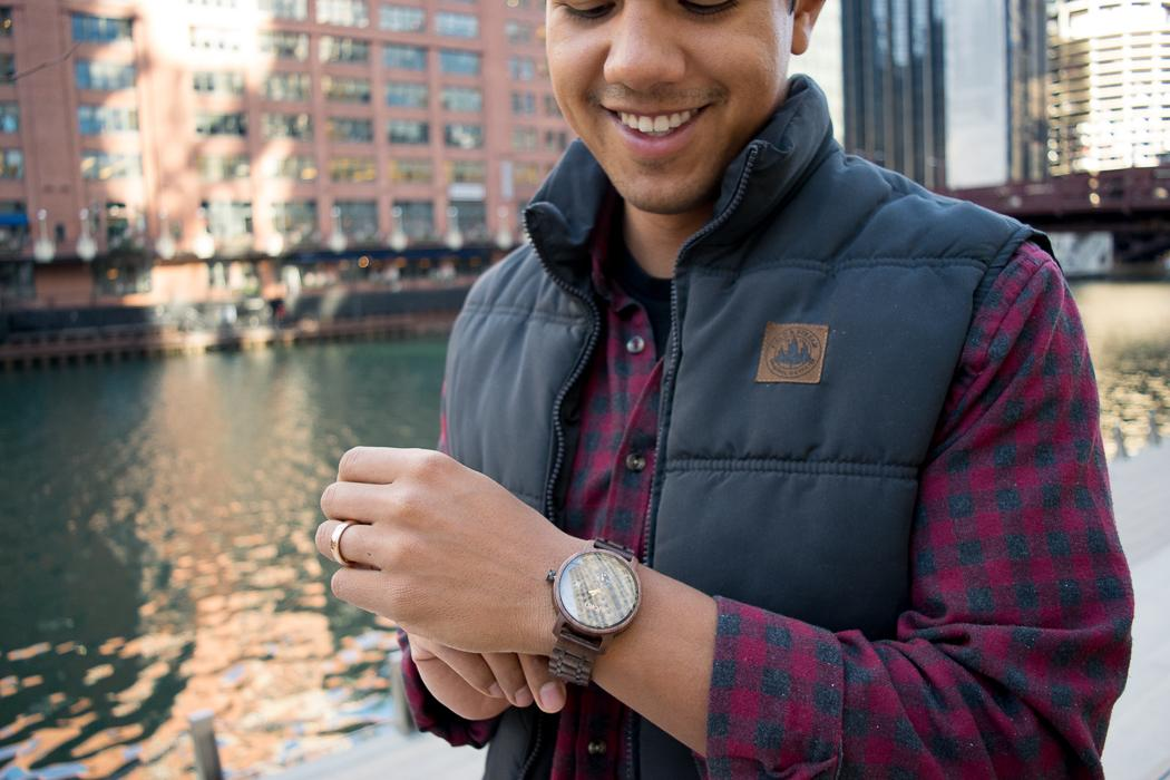 Holiday Gifting with JORD: Men's Wooden Watch