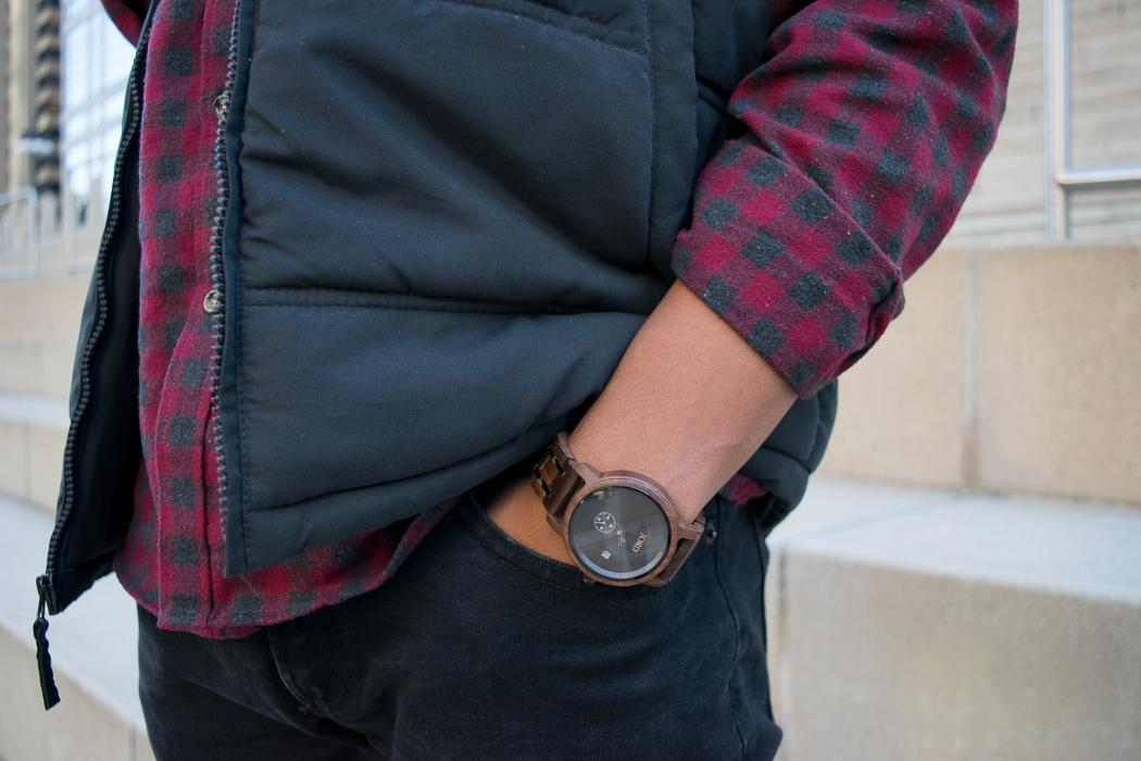 men's wooden watch