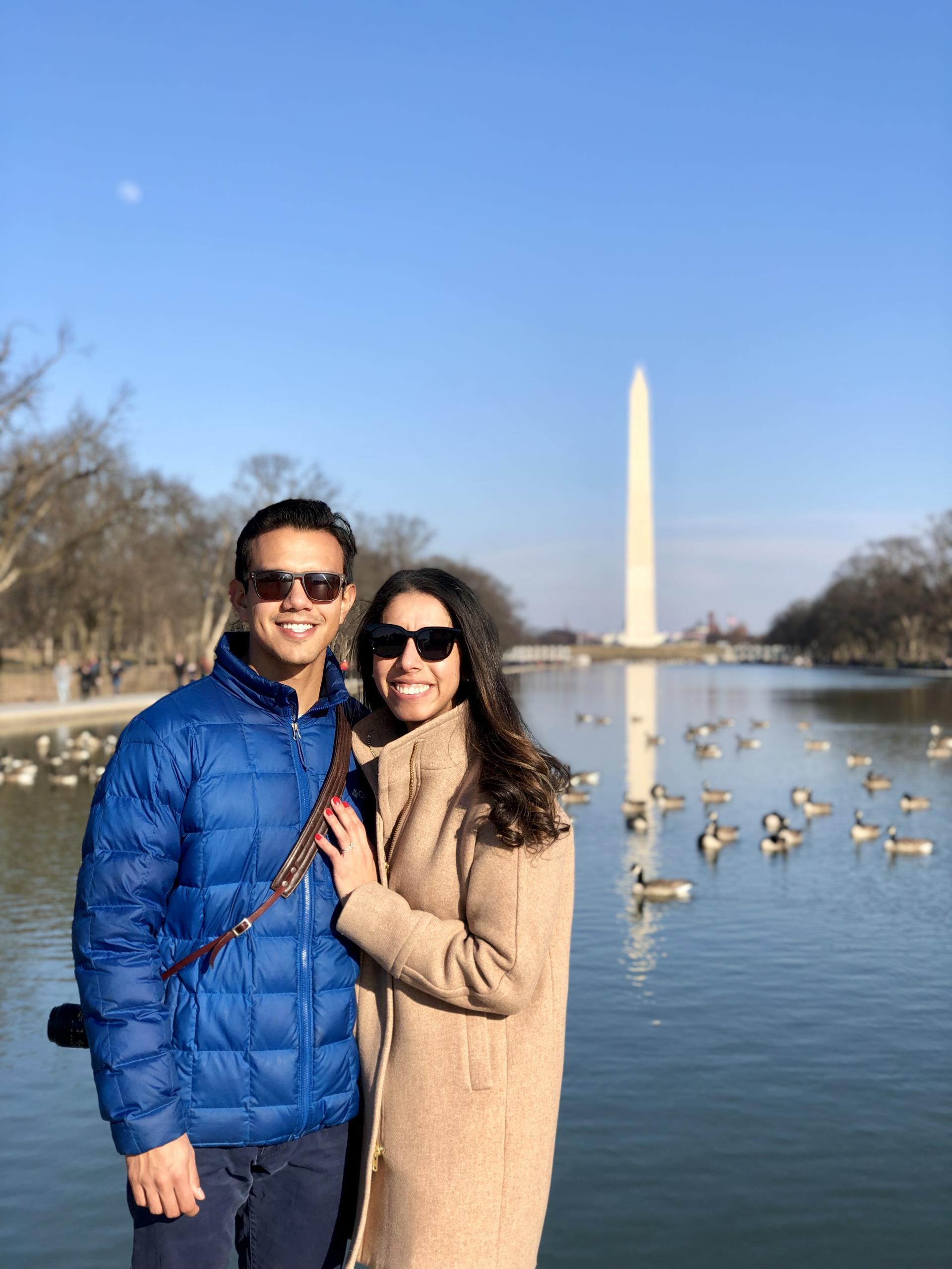 three days in Washington D.C.