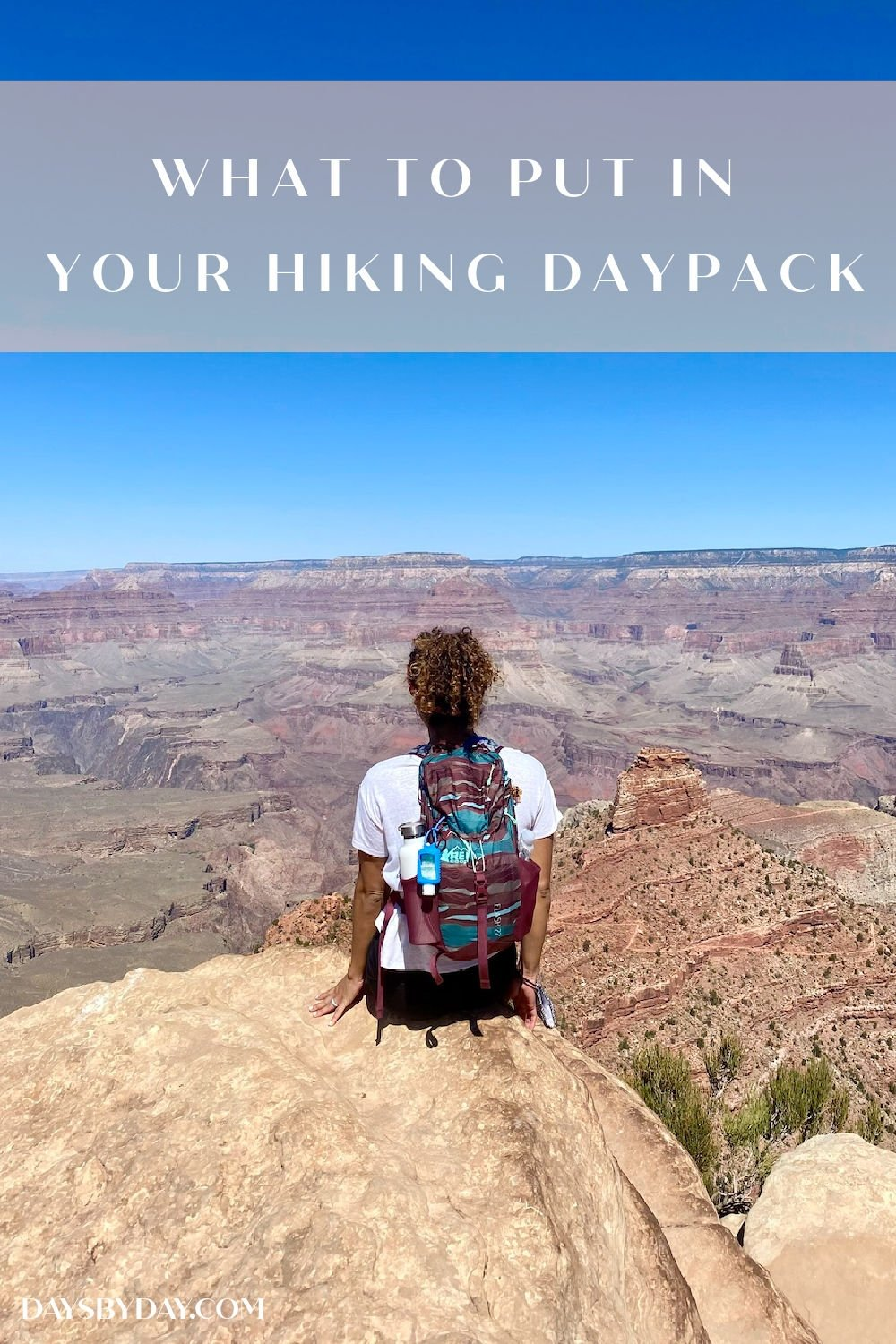 What to Put in Your Hiking Daypack